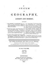 A System of Geography: Ancient and Modern, Volume 3