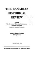 The Canadian Historical Review PDF