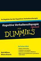 Kognitive Verhaltenstherapie Tagebuch f  r Dummies PDF
