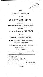 The Secret History of the Green-room