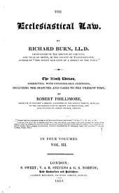 Burn's Ecclesiastical Law