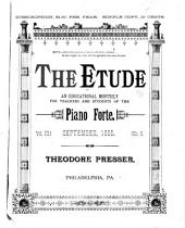 Etude: The Music Magazine, Volume 3