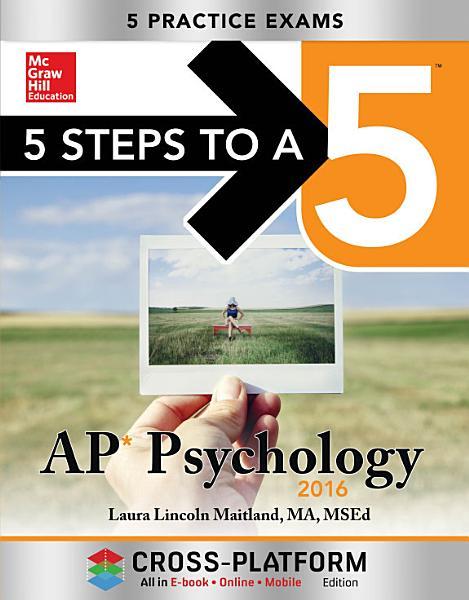 5 Steps to a 5 AP Psychology 2016  Cross Platform Edition