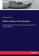 Modern Cookery in All Its Branches PDF