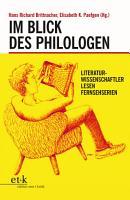 Im Blick des Philologen PDF