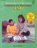 Letters to Parents-ESL