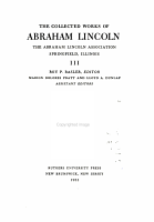 The Collected Works of Abraham Lincoln  1858 1860 PDF