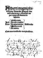 Philosophiae naturalis isagoge