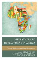 Migration and Development in Africa PDF