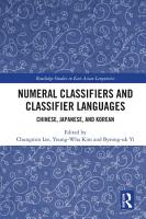 Numeral Classifiers and Classifier Languages PDF