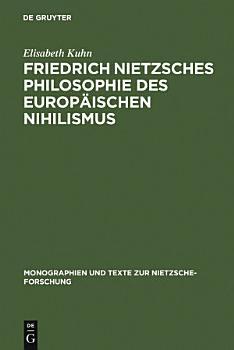 Friedrich Nietzsches Philosophie des europ  ischen Nihilismus PDF