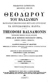 Patrologi©Œ cursus completus: seu, Bibliotheca universalis, integra, uniformis, commoda, oeconomica omnium SS. patrum, doctorum, scriptorumque ecclesiasticorum. Series gr©Œca