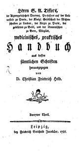 Medicinisches, praktisches Handbuch: Band 2