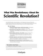 What Was Revolutionary About the Scientific Revolution?