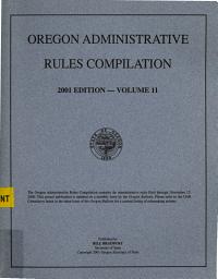 Oregon Administrative Rules