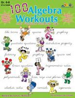 100 Algebra Workouts  eBook  PDF
