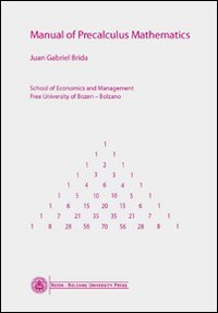 Manual of Precalculus Mathematics PDF