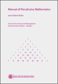 Manual of Precalculus Mathematics Book