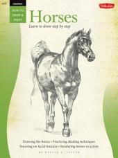Drawing: Horses: Learn to paint step by step