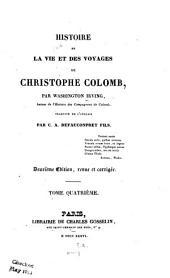 Histoire de la vie et des voyages de Christophe Colomb: Volume4