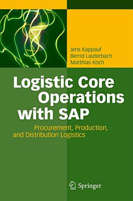 Logistic Core Operations with SAP PDF