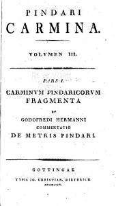 Carmina cum lectionis varietate et adnotationibus iterum: Volume 3
