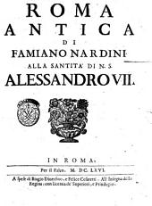 Roma antica di Famiano Nardini. ..