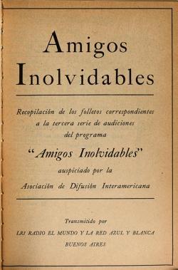 Amigos inolvidables PDF