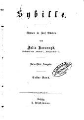 Sybille: Roman in fünf Bänden von Julia Kavanagh, Band 1