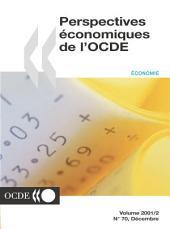 Perspectives économiques de l'OCDE, Volume 2001 Numéro 2