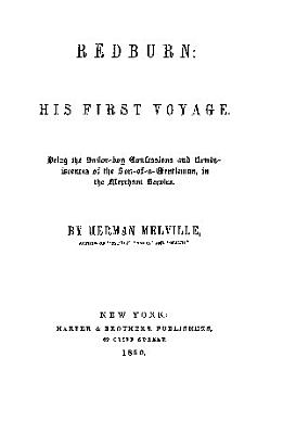 Redburn His First Voyage
