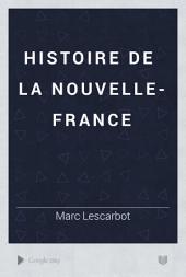 Histoire de la Nouvelle-France: Volume2;Volume5