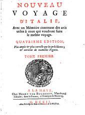 Nouveau voyage d'Italie: Volume1