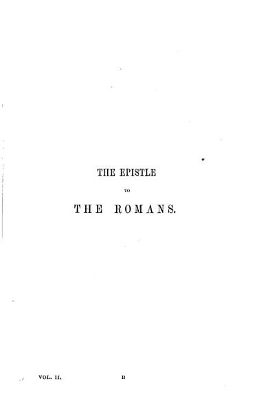 Download The Epistles of St  Paul to the Thessalonians  Galatians  Romans Book