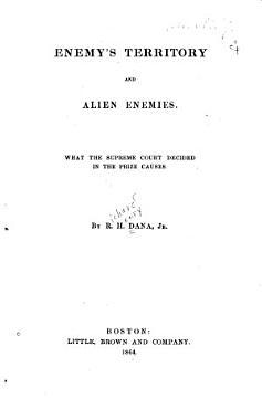 Enemy s Territory and Alien Enemies PDF