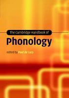The Cambridge Handbook of Phonology PDF