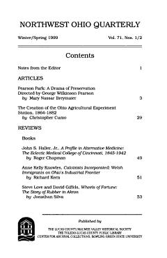 Northwest Ohio Quarterly PDF