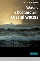 Waves in Oceanic and Coastal Waters PDF