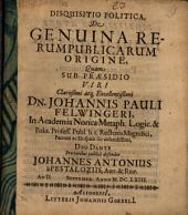 De genuina rerum publicarum origine