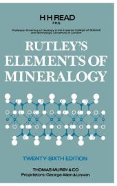 Rutley's Elements of Mineralogy: Edition 26
