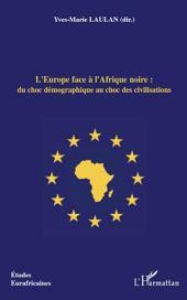L'Europe face à l'Afrique noire : du choc démographique au choc des civilisations