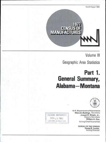 1977 census of manufactures PDF