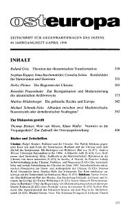 Osteuropa PDF