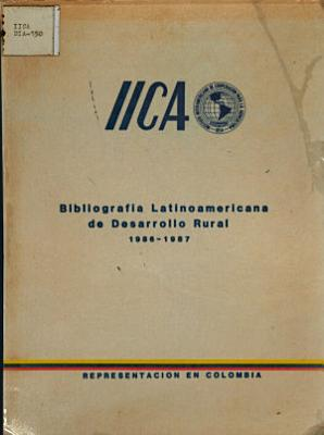 Bibliografia Latinoamericana de Desarrollo Rural PDF
