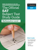 The Official SAT Subject Test in Mathematics Level 1 Study Guide PDF