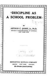 Discipline as a School Problem