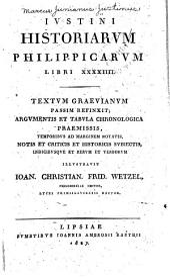 Ivstini Historiarvm Philippicarvm libri XXXXIIII.