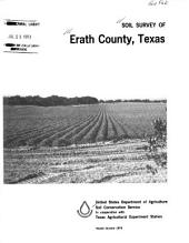 Soil Survey of Erath County, Texas
