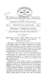Kansas Medical Index: Volume 2