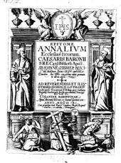 Epitome Annalium Ecclesiasticorum Caesaris Baronii: Volume 1